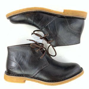 UGG Australia Leighton Leather Chukka Ankle Boots